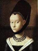 Petrus Christus Portrait of a Young Woman oil painting artist