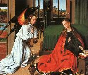 Petrus Christus Annunciation1 oil painting artist