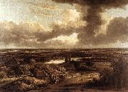 Philips Koninck Dutch Landscape Viewed from the Dunes oil painting artist