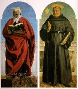 Piero della Francesca Polyptych of Saint Augustine oil painting picture wholesale