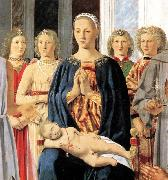 Piero della Francesca Madonna and Child with Saints Montefeltro Altarpiece oil painting picture wholesale