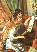 Pierre Renoir Two Girls at the Piano oil painting picture wholesale