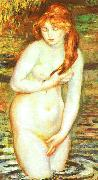 Pierre Renoir Young Woman Bathing oil painting picture wholesale