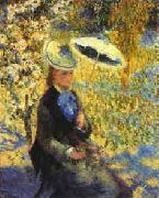 Pierre Renoir Umbrellas oil painting reproduction