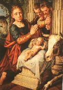 Pieter Aertsen The Adoration of the Shepherds oil painting artist