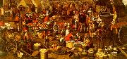Pieter Aertsen Market Scene_a France oil painting reproduction