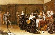 Pieter Codde Dancing Party oil painting artist