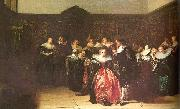 Pieter Codde Merry Company 2 oil painting artist