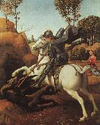Raphael St.George and the Dragon oil painting picture wholesale
