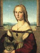 Raphael The Woman with the Unicorn oil painting artist