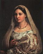 Raphael La Donna Velata oil painting picture wholesale