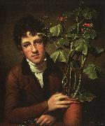 Rembrandt Peale Rubens Peale with Geranium oil painting picture wholesale