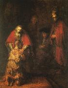 Rembrandt The Return of the Prodigal Son oil painting picture wholesale