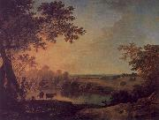 Richard  Wilson View in Windsor Great Park oil painting picture wholesale