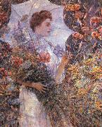 Robert Reid The White Parasol oil painting artist