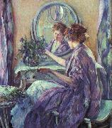 Robert Reid The Violet Kimino oil painting artist