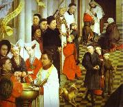 Rogier van der Weyden Sacraments Altarpiece oil painting picture wholesale
