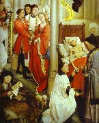 Rogier van der Weyden Altarpiece.Ordination oil painting picture wholesale