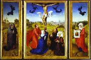 Rogier van der Weyden Crucifixion Triptych oil painting picture wholesale