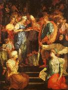 Rosso Fiorentino Marriage of The Virgin oil painting artist