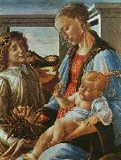 Sandro Botticelli Madonna and Child with an Angel France oil painting reproduction