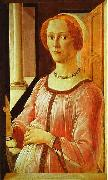 Sandro Botticelli Portrait of a Lady oil painting picture wholesale