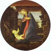 Sandro Botticelli The Virgin Adoring Child oil painting picture wholesale