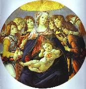 Sandro Botticelli Madonna of the Pomegranate oil painting picture wholesale