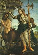 Sandro Botticelli Pallas and the Centaur France oil painting reproduction