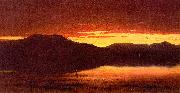 Sanford Robinson Gifford Twilight at Mt Merino oil painting artist