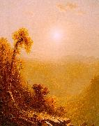 Sanford Robinson Gifford October in the Catskills oil painting artist