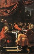 Simon Vouet The Last Supper oil painting