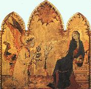Simone Martini The Annunciation and the Two Saints oil painting artist