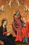 Simone Martini Christ Discovered in the Temple oil painting artist
