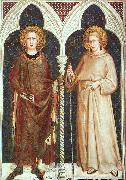 Simone Martini St.Louis of France and St.Louis of Toulouse oil painting artist