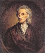 Sir Godfrey Kneller John Locke oil painting artist