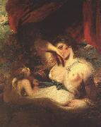 Sir Joshua Reynolds Cupid Unfastens the Belt of Venus oil painting picture wholesale