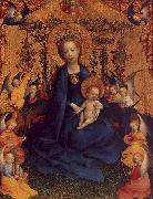 Stefan Lochner The Virgin and Child in a Rose Arbour oil painting artist