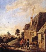 TENIERS, David the Younger Village Scene  ar oil painting picture wholesale