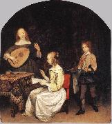 TERBORCH, Gerard The Concert sg oil painting picture wholesale
