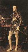 TIZIANO Vecellio King Philip II r oil painting picture wholesale