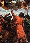 TIZIANO Vecellio Assumption of the Virgin (detail) rt oil painting picture wholesale