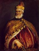 TIZIANO Vecellio Portrait of Doge Andrea Gritti ar oil painting picture wholesale
