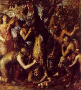 TIZIANO Vecellio The Flaying of Marsyas ar oil painting picture wholesale