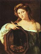 TIZIANO Vecellio Profane Love (Vanity) art oil painting picture wholesale