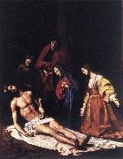 TOURNIER, Nicolas Entombment wt oil painting picture wholesale