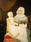 The Freake Limner Mrs Elizabeth Freake and Baby Mary oil painting picture wholesale