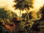 Thomas Cole Landscape1825 oil painting picture wholesale