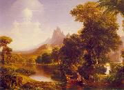 Thomas Cole The Voyage of Life: Youth oil painting picture wholesale