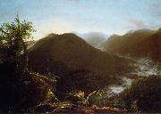 Thomas Cole Sunrise in the  Catskill oil painting artist